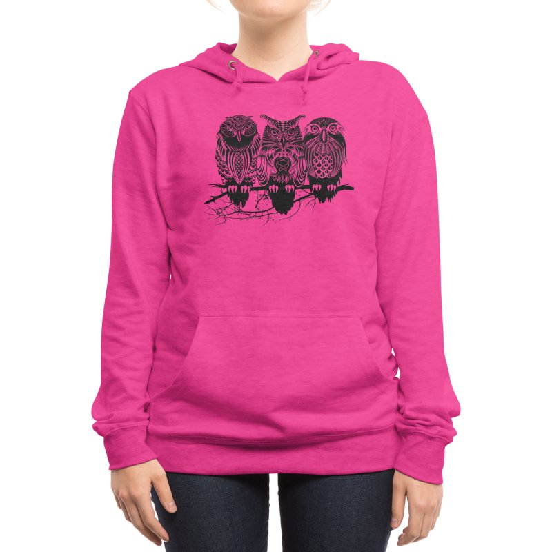 Owls of the Nile Women's Pullover Hoody by Threadless Artist Shop