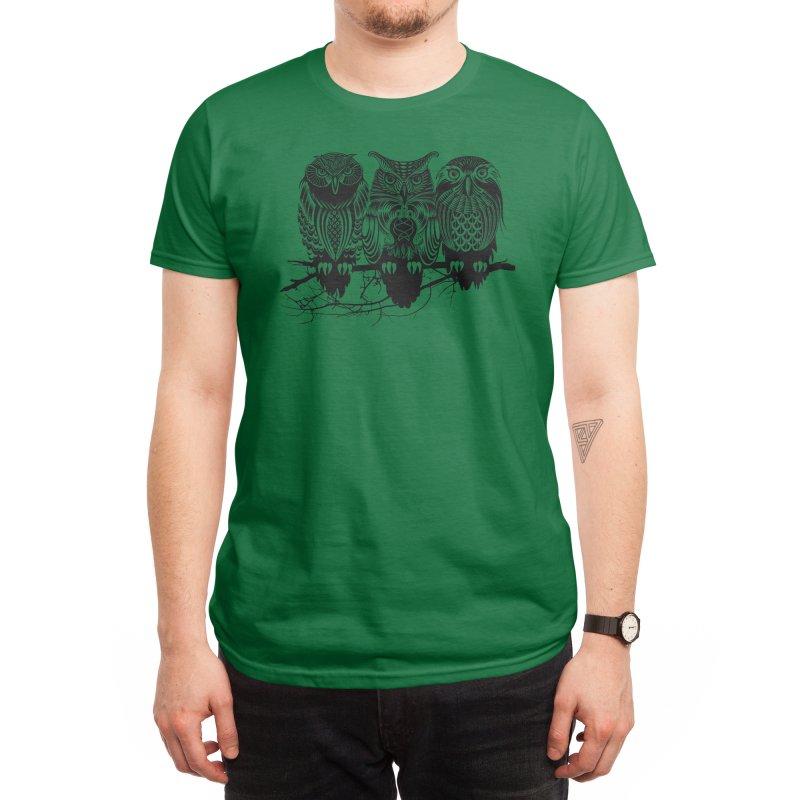 Owls of the Nile Men's T-Shirt by Threadless Artist Shop