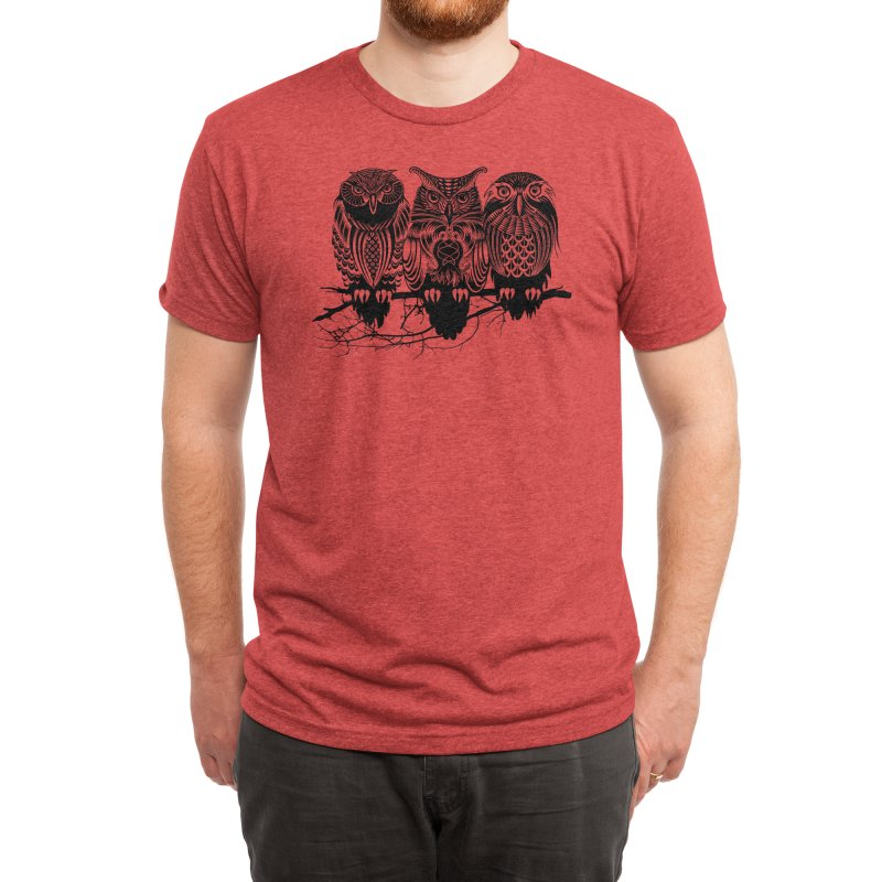 Owls of the Nile Men's T-Shirt by Threadless Artist Shop
