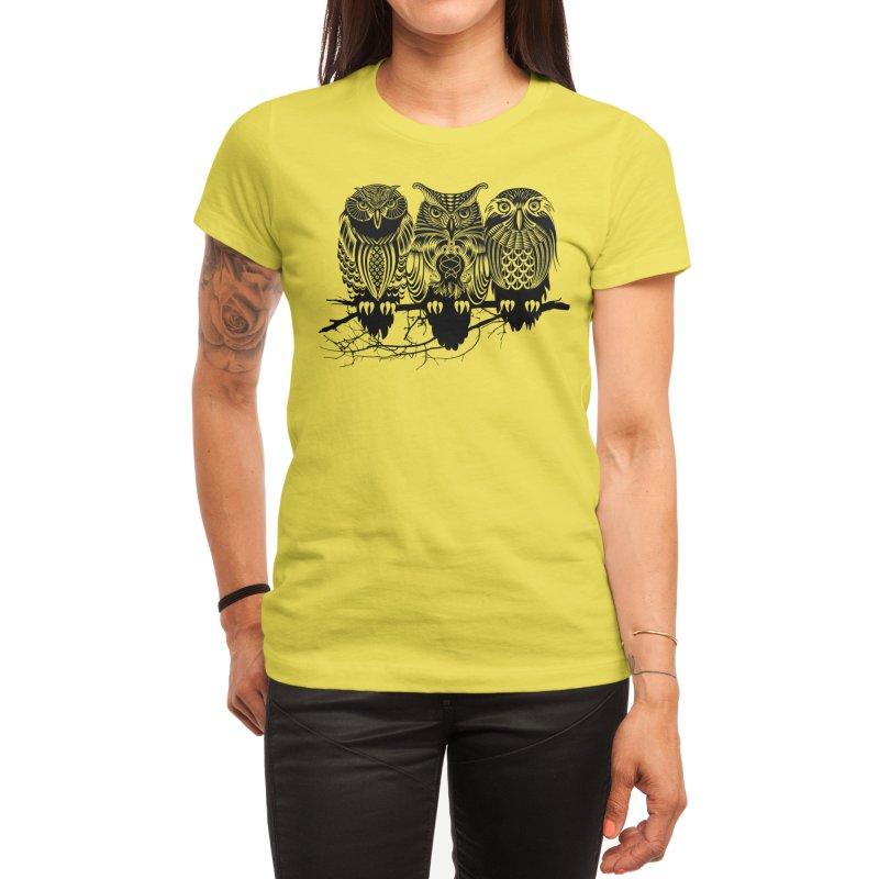 Owls of the Nile Women's T-Shirt by Threadless Artist Shop
