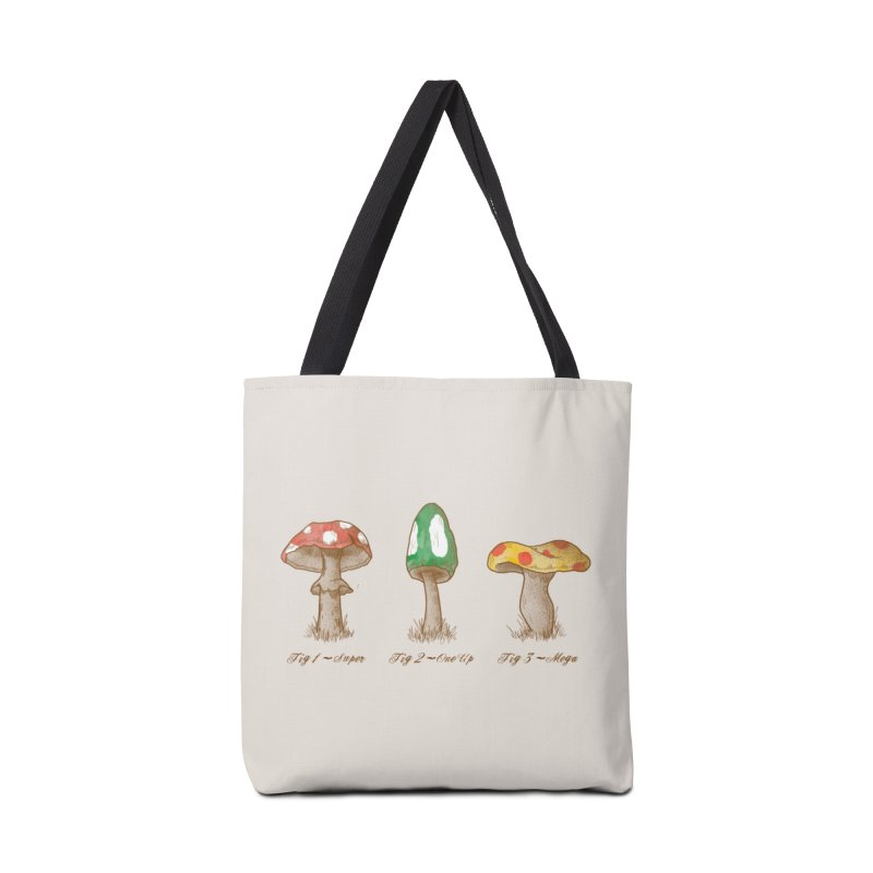 Mario Mycology Accessories Bag by Threadless Artist Shop