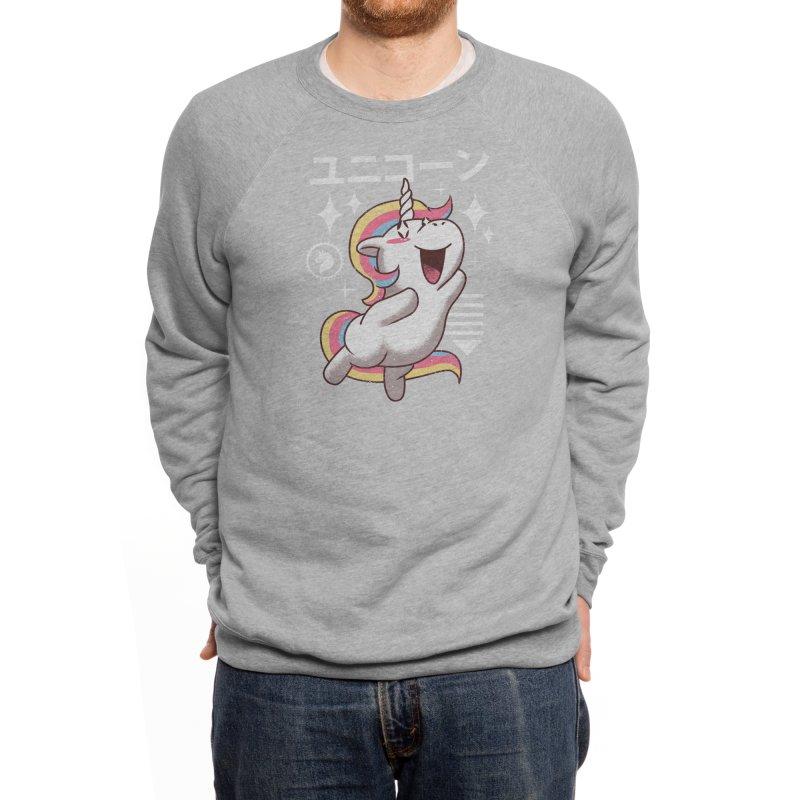 Kawaii Unicorn Men's Sweatshirt by Threadless Artist Shop