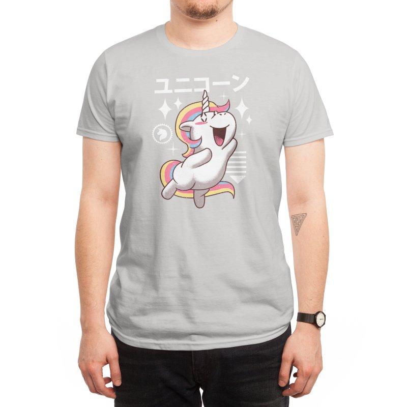 Kawaii Unicorn Men's T-Shirt by Threadless Artist Shop