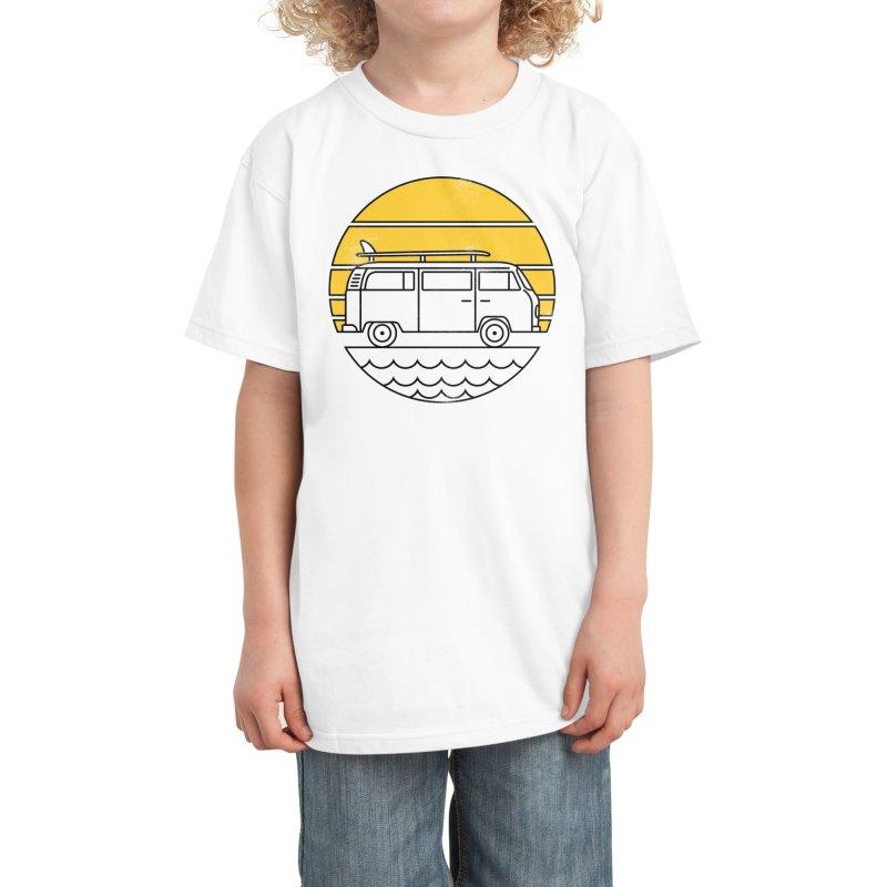 ROAD TRIP Kids T-Shirt by Threadless Artist Shop