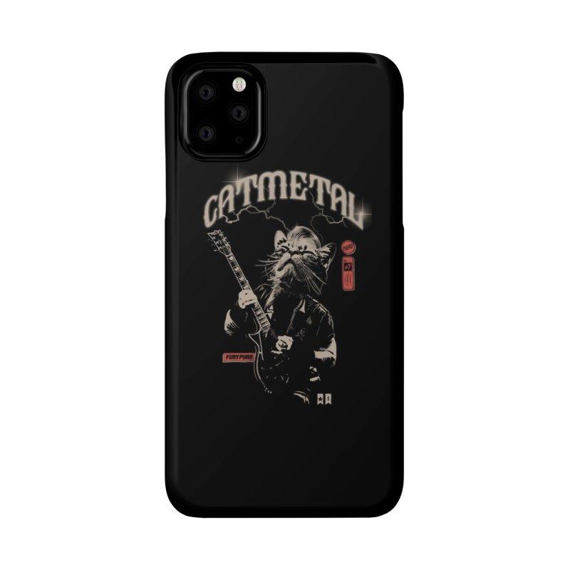 Catmetal Accessories Phone Case by Threadless Artist Shop