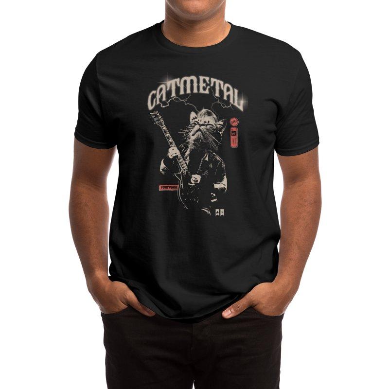 Catmetal Men's T-Shirt by Threadless Artist Shop