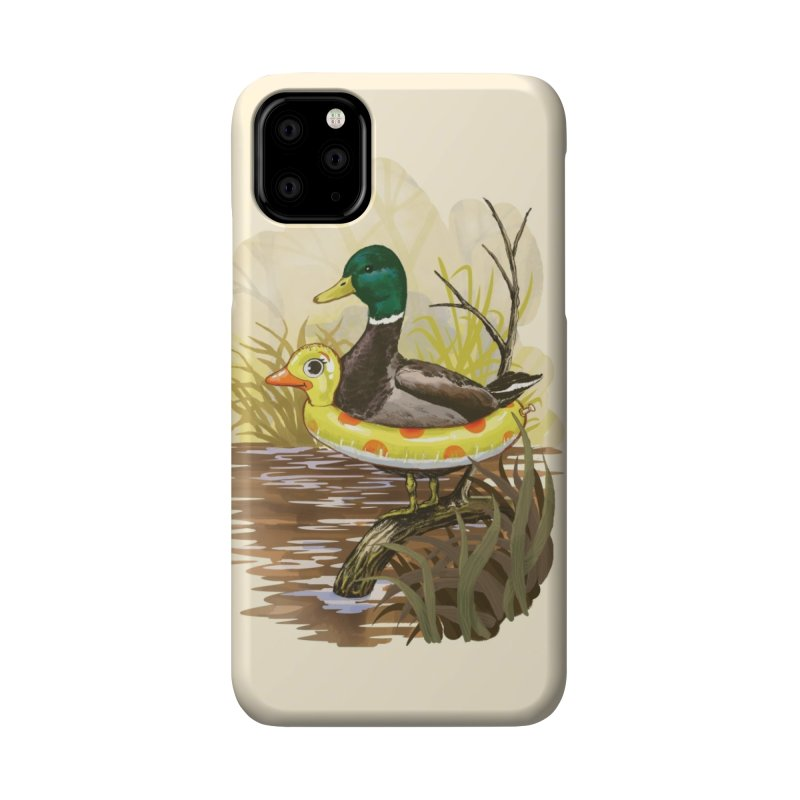 Duck in Training Accessories Phone Case by Threadless Artist Shop