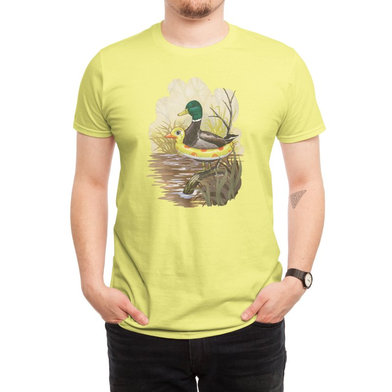 Duck in Training Men's T-Shirt by Threadless Artist Shop