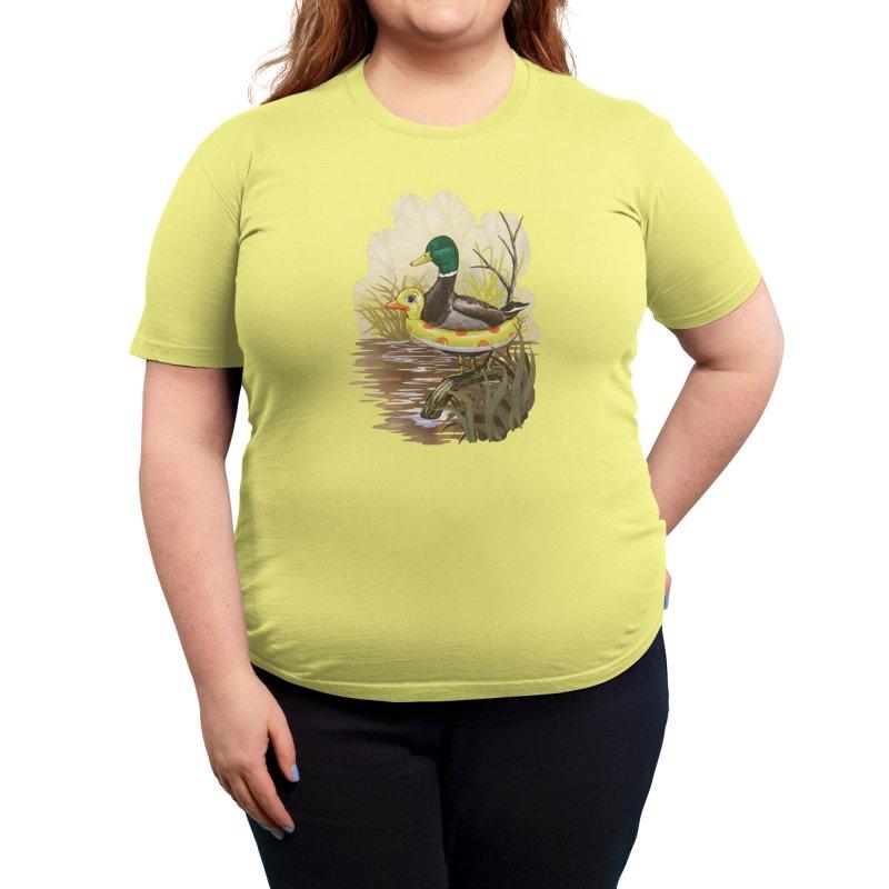 Duck in Training Women's T-Shirt by Threadless Artist Shop