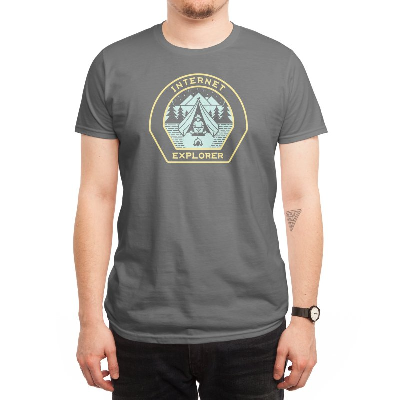 INTERNET EXPLORER Men's T-Shirt by Threadless Artist Shop