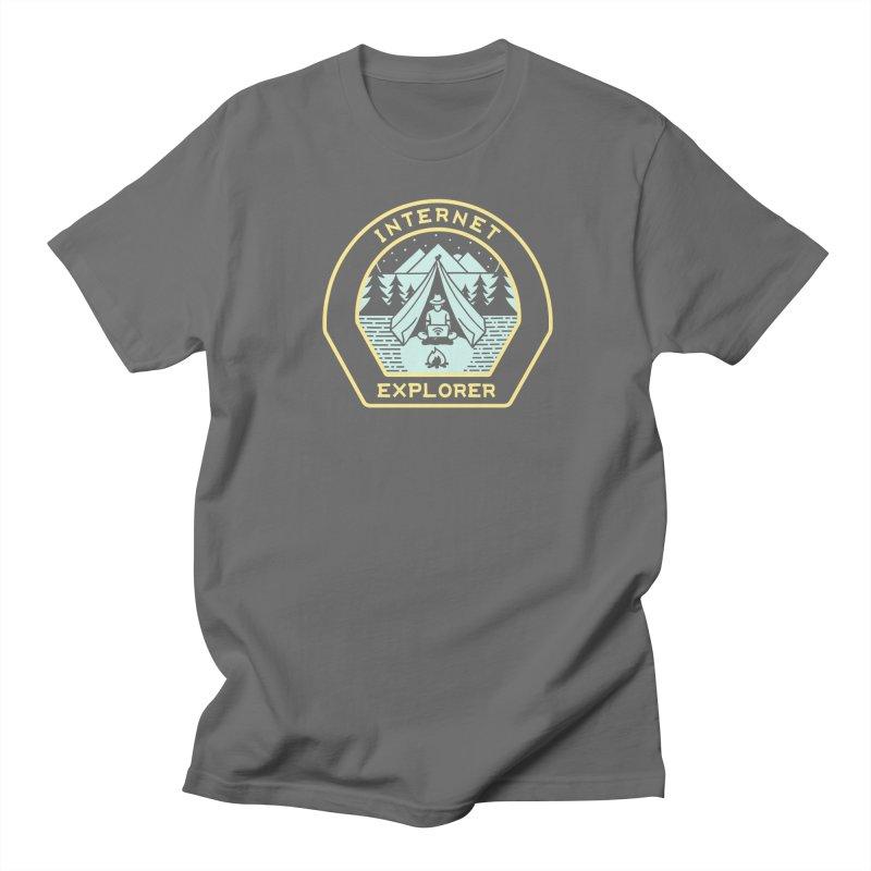 INTERNET EXPLORER Women's T-Shirt by Threadless Artist Shop
