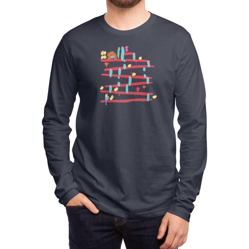 Arcade Expressionism Men's Longsleeve T-Shirt by Threadless Artist Shop