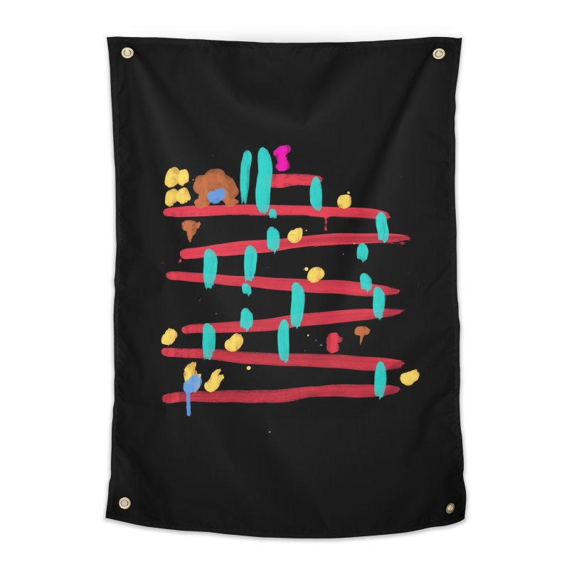 Arcade Expressionism Home Tapestry by Threadless Artist Shop