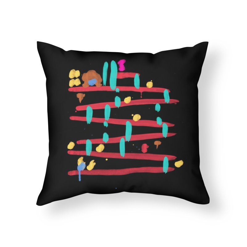 Arcade Expressionism Home Throw Pillow by Threadless Artist Shop