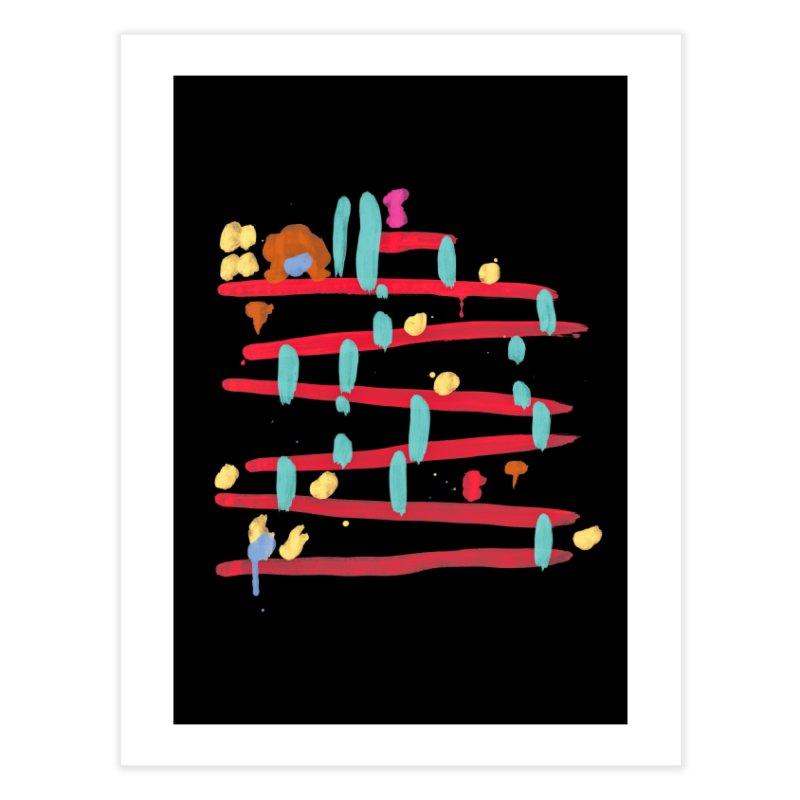 Arcade Expressionism Home Fine Art Print by Threadless Artist Shop