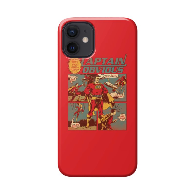 Captain Obvious! Accessories Phone Case by Threadless Artist Shop