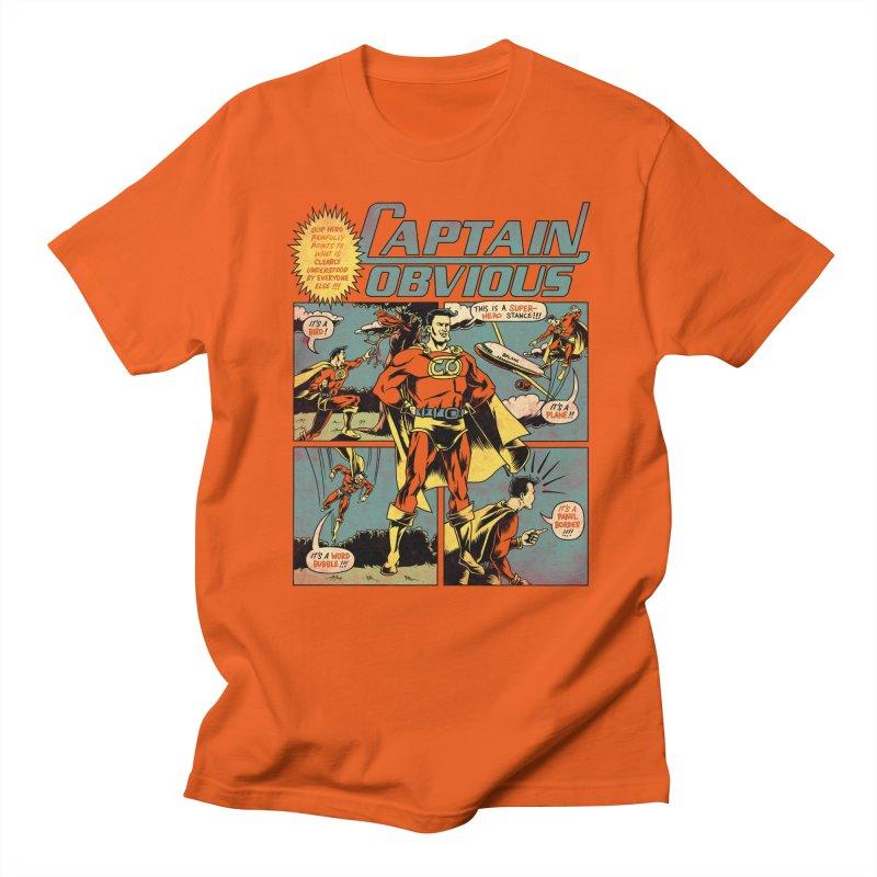 Captain Obvious! Women's T-Shirt by Threadless Artist Shop