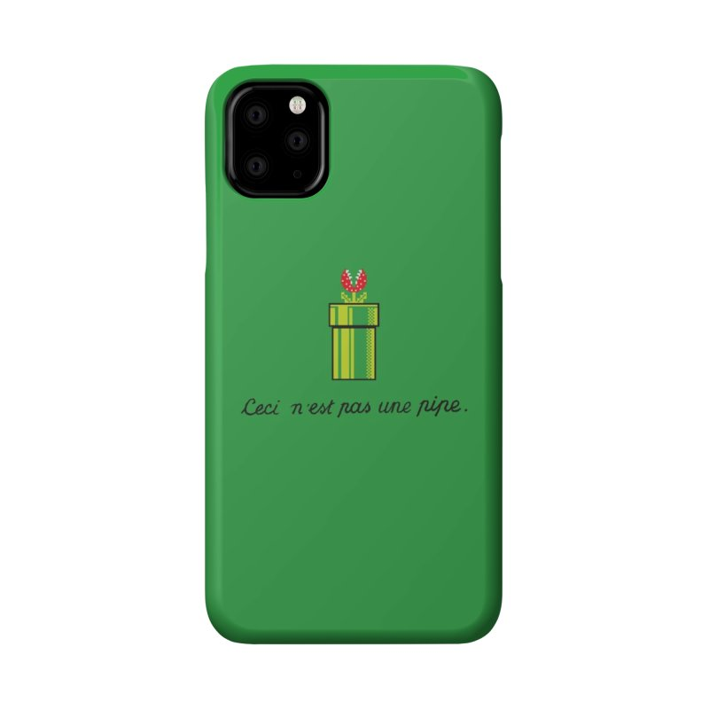 This Is Not a Pipe Accessories Phone Case by Threadless Artist Shop