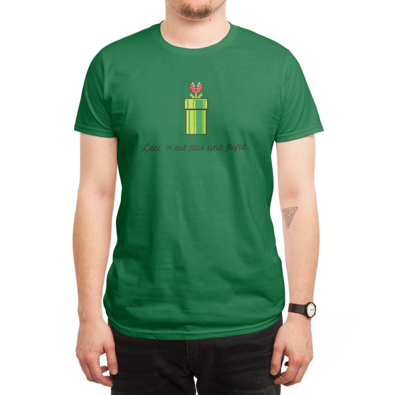 This Is Not a Pipe Men's T-Shirt by Threadless Artist Shop