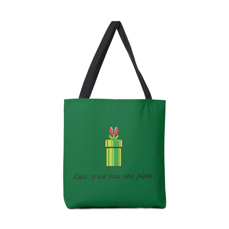 This Is Not a Pipe Accessories Bag by Threadless Artist Shop