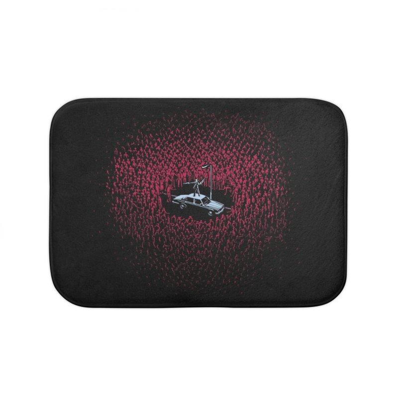 The Horde Home Bath Mat by Threadless Artist Shop