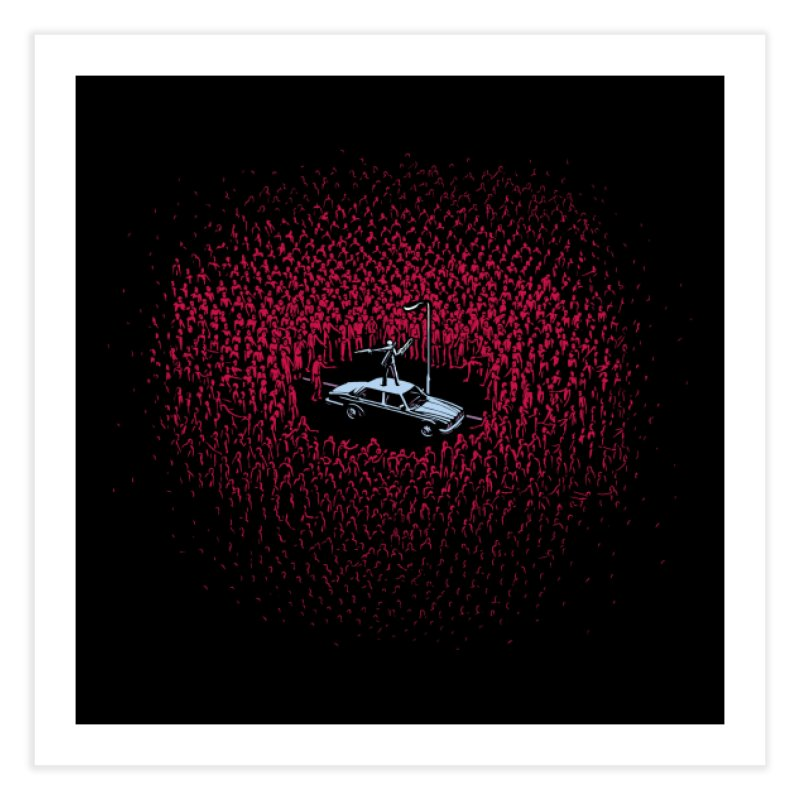 The Horde Home Fine Art Print by Threadless Artist Shop