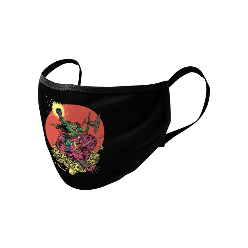 METAL Accessories Face Mask by Threadless Artist Shop