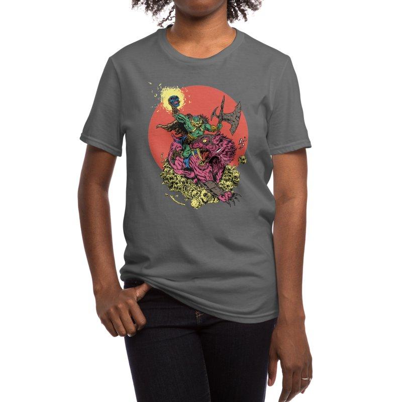 METAL Women's T-Shirt by Threadless Artist Shop