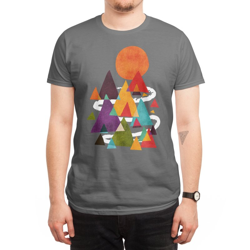 The Mountains are Calling Men's T-Shirt by Threadless Artist Shop
