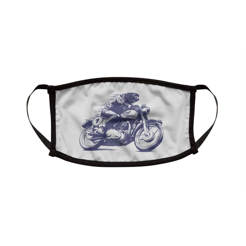 Built for Speed Accessories Face Mask by Threadless Artist Shop