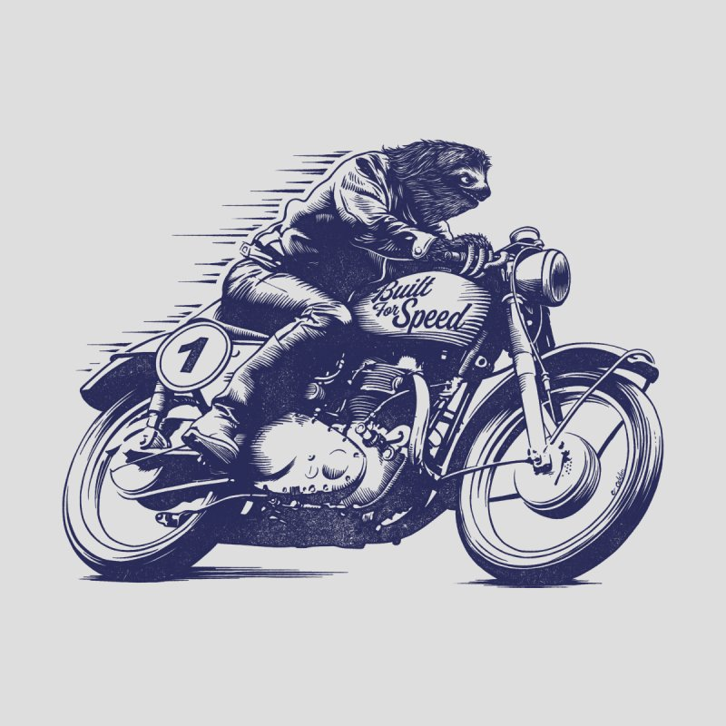 Built for Speed Home Fine Art Print by Threadless Artist Shop