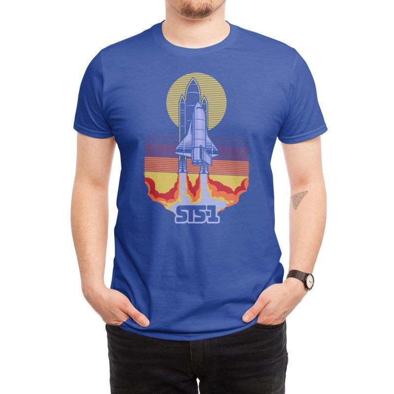 STS-1 Men's T-Shirt by Threadless Artist Shop