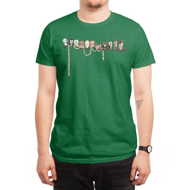 Doctor-Hoo Men's T-Shirt by Threadless Artist Shop