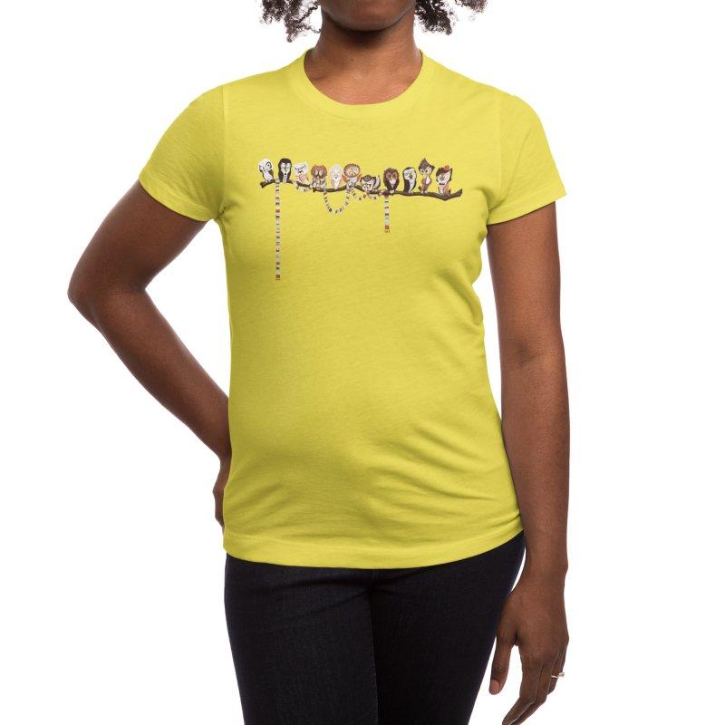 Doctor-Hoo Women's T-Shirt by Threadless Artist Shop
