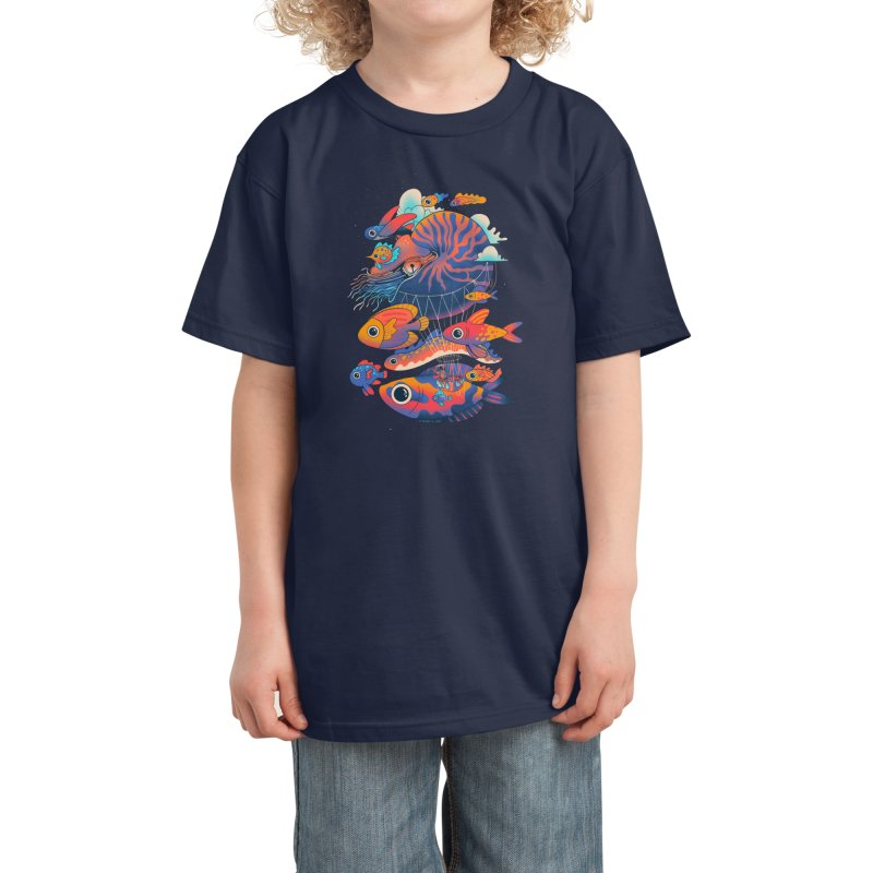 Chico's journey Kids T-Shirt by Threadless Artist Shop