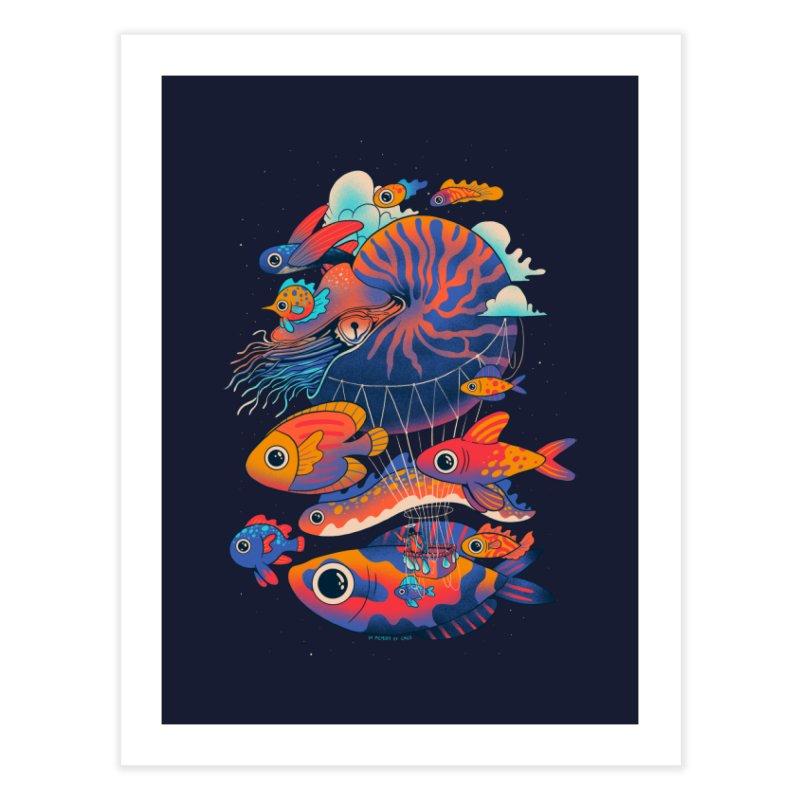Chico's journey Home Fine Art Print by Threadless Artist Shop