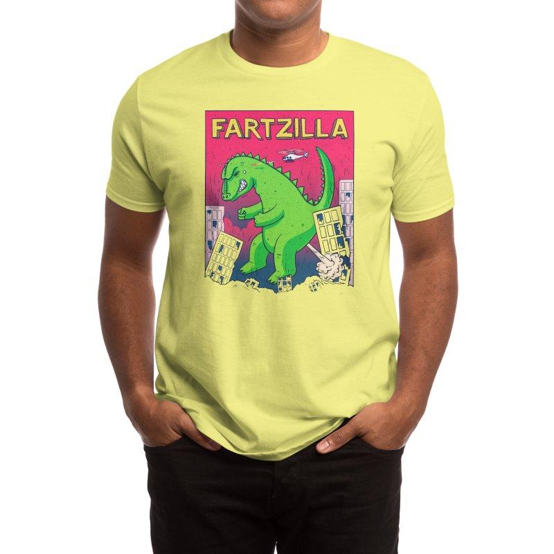 Fartzilla Men's T-Shirt by Threadless Artist Shop