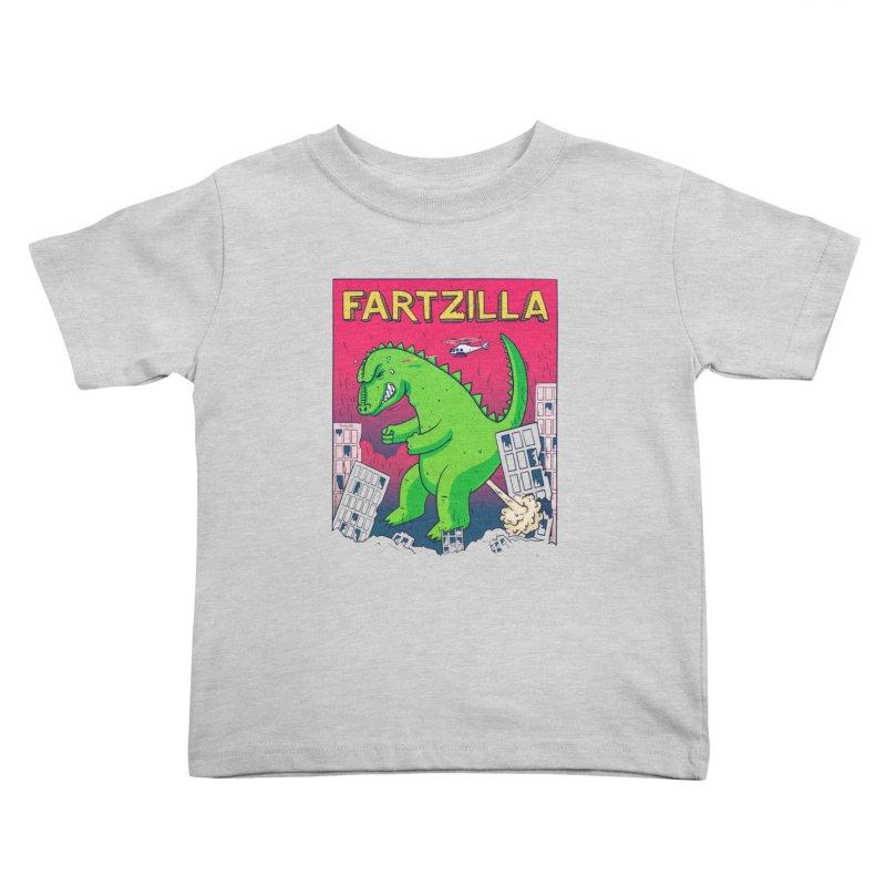 Fartzilla Kids Toddler T-Shirt by Threadless Artist Shop