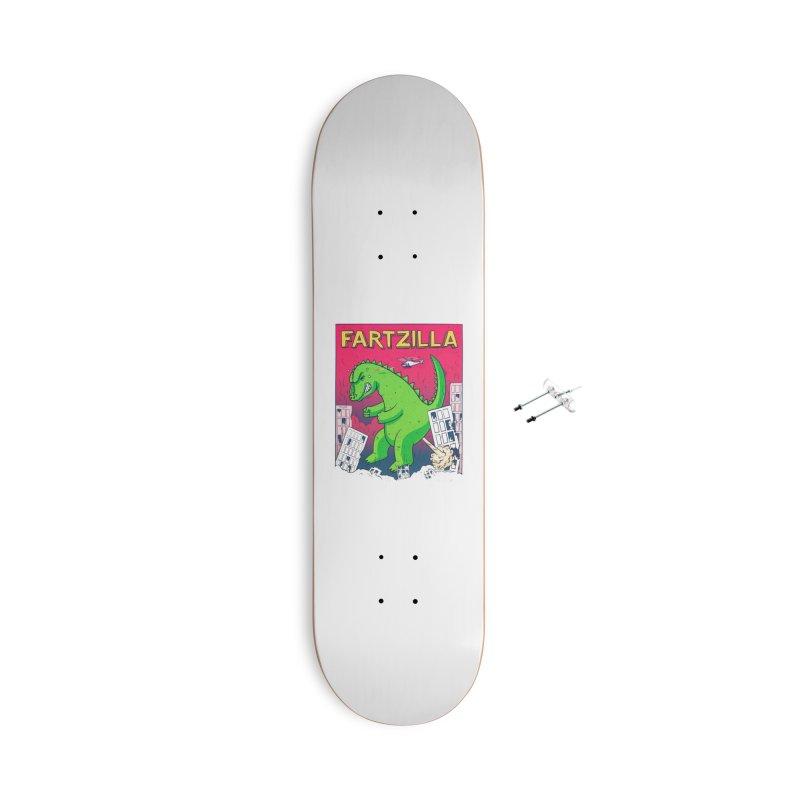 Fartzilla Accessories Skateboard by Threadless Artist Shop
