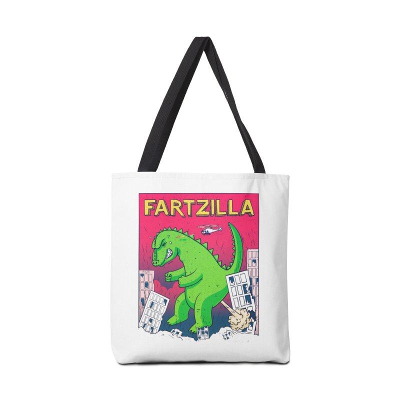 Fartzilla Accessories Bag by Threadless Artist Shop