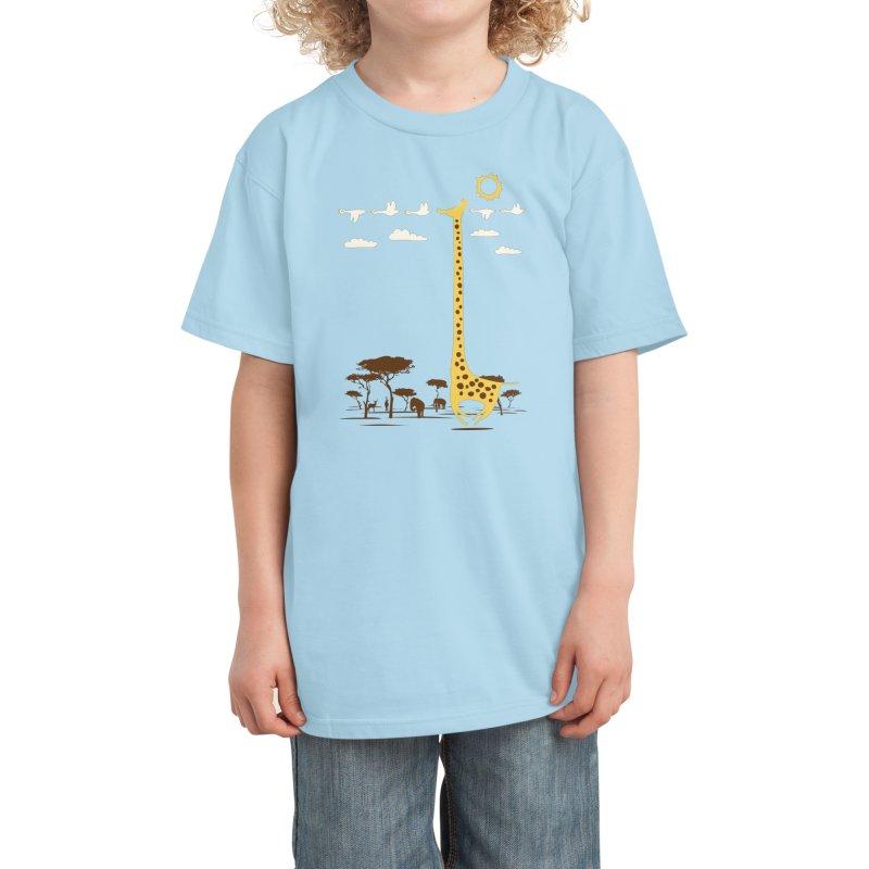 I'm Like a Bird! Kids T-Shirt by Threadless Artist Shop