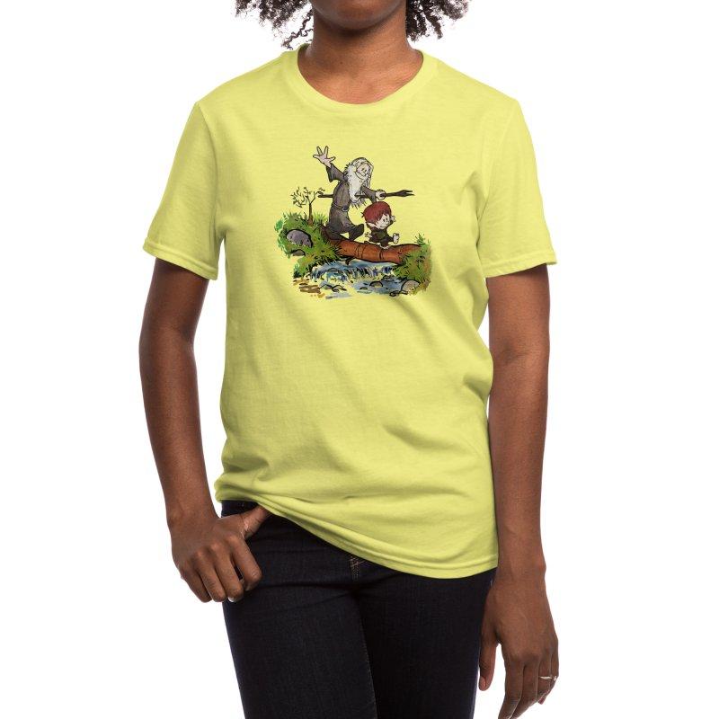 Halfling and Wizard Women's T-Shirt by Threadless Artist Shop