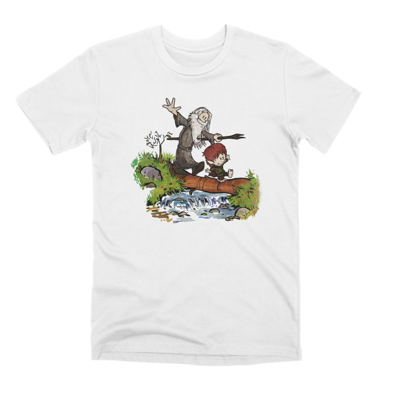 Halfling and Wizard Men's T-Shirt by Threadless Artist Shop