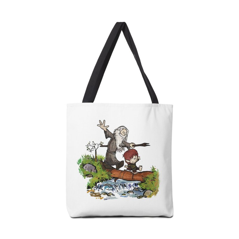 Halfling and Wizard Accessories Bag by Threadless Artist Shop