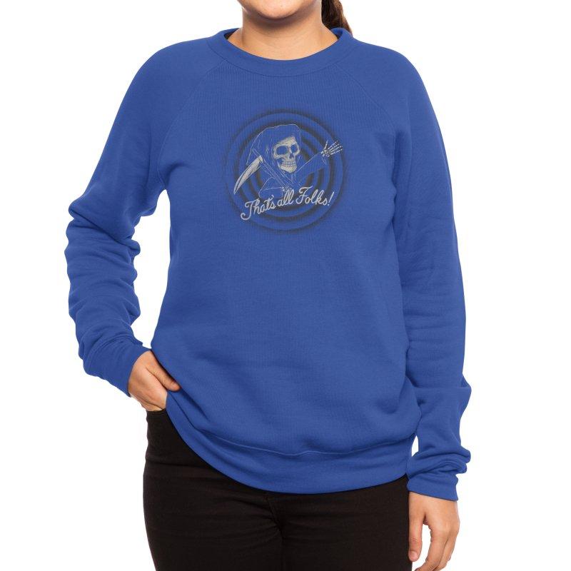 The End Women's Sweatshirt by Threadless Artist Shop