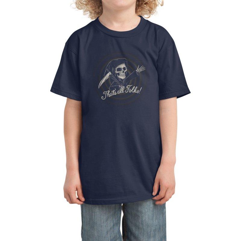 The End Kids T-Shirt by Threadless Artist Shop