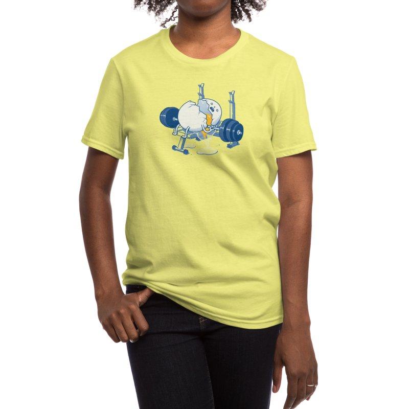 Weight Lifting Accident Women's T-Shirt by Threadless Artist Shop