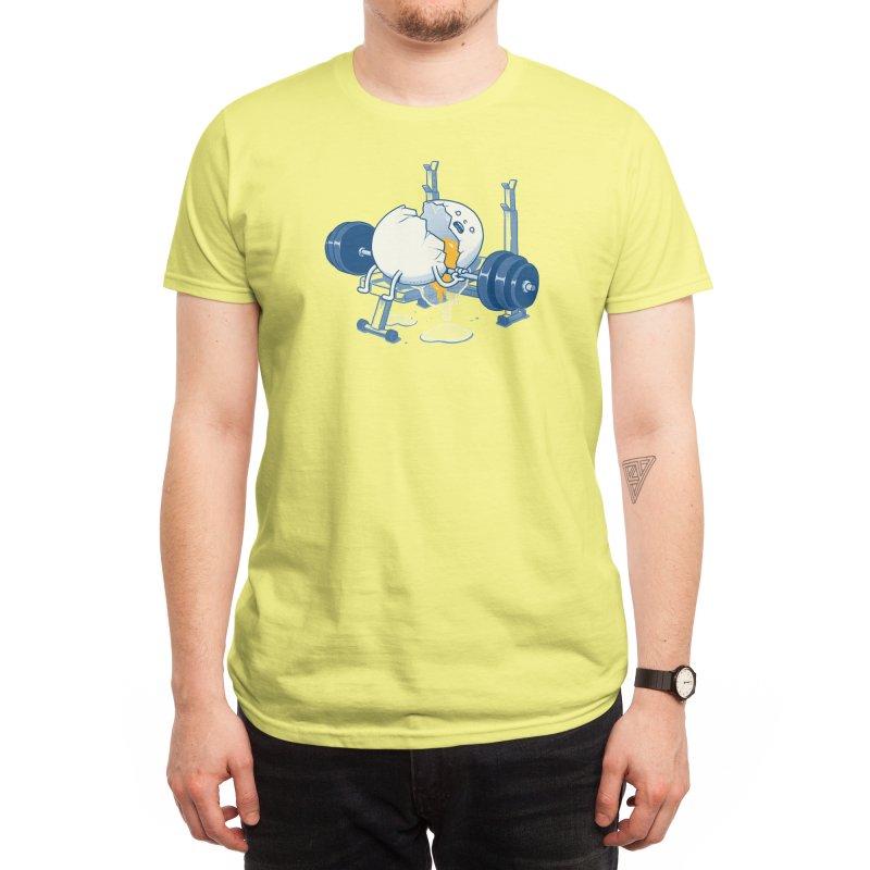 Weight Lifting Accident Men's T-Shirt by Threadless Artist Shop