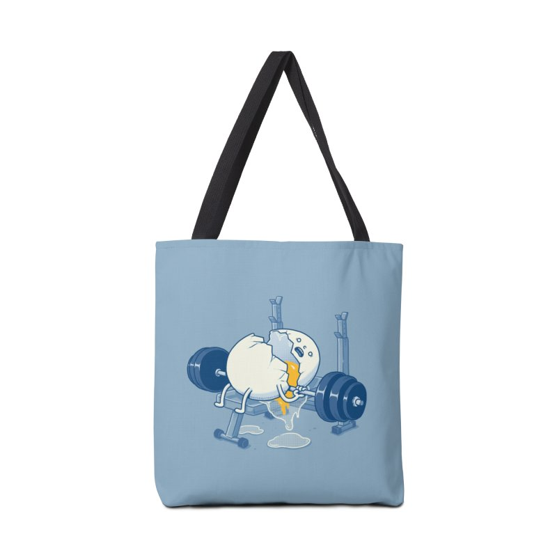 Weight Lifting Accident Accessories Bag by Threadless Artist Shop
