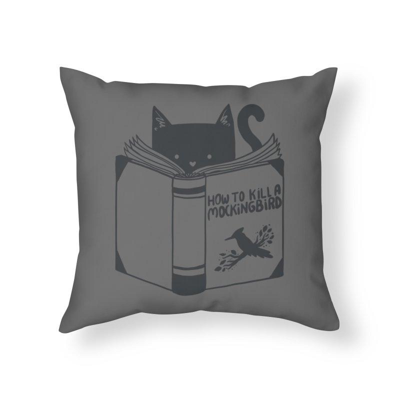 How To Kill a Mockingbird Home Throw Pillow by Threadless Artist Shop